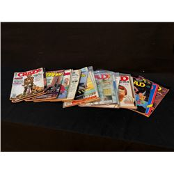 HUMOUR MAGS BRONZE AGE LOT OF 21 - INCLUDES 15 X MAD/5 X NATIONAL LAMPOONS & 1X