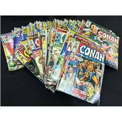 CONAN THE BARBARIAN #25-168 + GS #3 - 66 ISSUE RUN (MID GRADE AVG.) 1970S-80S