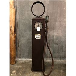 GILBERT & BARKER MFG. CO. VINTAGE GAS PUMP, CIRCA 1930, MODEL T-90 SX-31, SERIAL NUMBER 542056, ALL