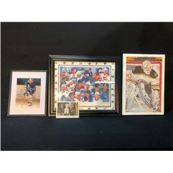 COLLECTION OF HOCKEY ART INC. AUTOGRAPHED  RED  KELLY PRINT,  NHL CANADIAN GREATS LIMITED EDITION