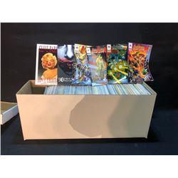 LONG BOX MIXED PUBLISHERS - MODERN COMICS