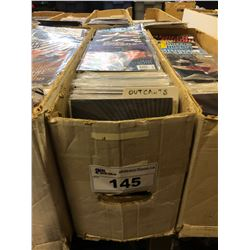 LONG BOX MIXED TITLES - MODERN COMICS