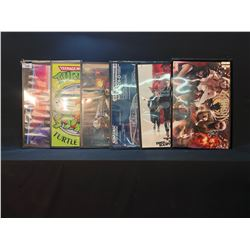 COLLECTION OF VARIOUS MOVIE POSTERS OF DIFFERENT THEMES AND SIZES, SOME INCLUDE METAL HANGER FRAME