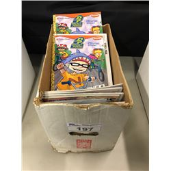 SHORT BOX MIXED TITLES - MODERN COMICS