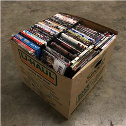 LARGE LOT OF ASSORTED DVDS