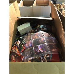 BOX OF ASSORTED COLLECTIBLES/CARDS, ETC.