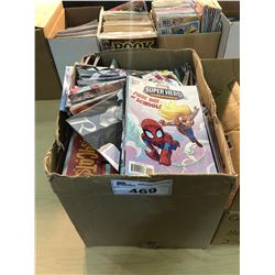 BOX MIXED TITLES - MODERN COMICS/BOOKS/OTHER