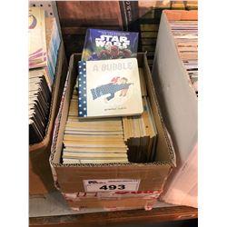 BOX MIXED TITLES - MODERN COMICS/BOOKS/OTHER