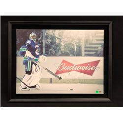 ROBERTO LUONGO AUTOGRAPHED AND FRAMED LIMITED EDITION CANVAS PRINT, 29/50, SIGNED LOWER RIGHT, 32''