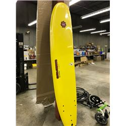 8' LIQUID SHREDDER EASY-SLIDER 8' YELLOW LONG BOARD