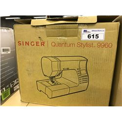SINGER QUANTUM STYLIS 9960 PROGRAMMABLE SEWING MACHINE COMES WITH A DRESS FORM MANNEQUIN