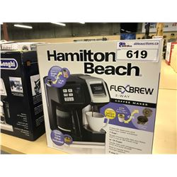 HAMILTON BEACH FLEX BREW 2-WAY COFFEE MAKER