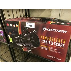 CELESTRON POWERSEEKER 127EQ TELESCOPE  127MM REFLECTOR