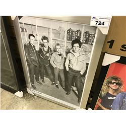 THE CLASH FRAMED PICTURE