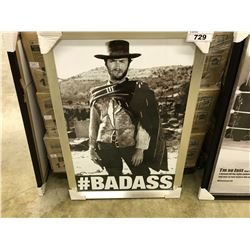 CLINT EASTWOOD FRAMED PICTURE