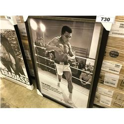 MUHAMMAD ALI FRAMED PICTURE