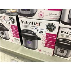 INSTANT POT 9 IN 1 MULTI-USE PROGRAMMABLE PRESSURE COOKER