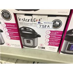 INSTANT POT 7 IN 1 MULTI-USE PROGRAMMABLE PRESSURE COOKER