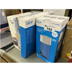 BLUE AIR PURIFIER AND REPLACEMENT FILTER