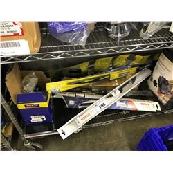 SHELF LOT OF ASSORTED HOME/GARAGE/OUTDOOR PRODUCTS