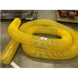 APPROX. 20' LENGTH OF REINFORCED FLEXIBLE TUBE