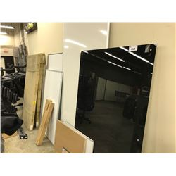 LARGE ASSORTMENT OF WHITE BOARDS/DISPLAY BOARDS AND MORE
