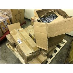 PALLET OF METAL RACKING HOOKS