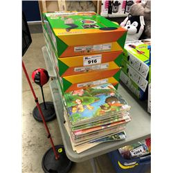 LOT OF KIDS TOYS INC. BASKETBALL HOOPS AND PUZZLES