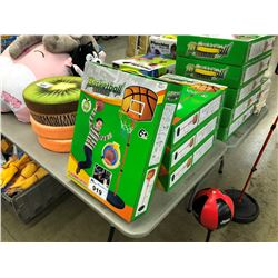 LOT OF KIDS BASKETBALL SETS