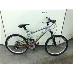 GIANT TRANCE 27 SPEED FULL SUSPENSION MOUNTAIN BIKE WITH FRONT AND REAR HYDRAULIC DISK BRAKES