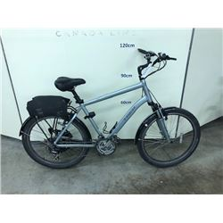 GREY TREK SHIFT 4 24 SPEED HYBRID ROAD BIKE