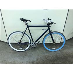 BLUE NO NAME SINGLE SPEED ROAD BIKE