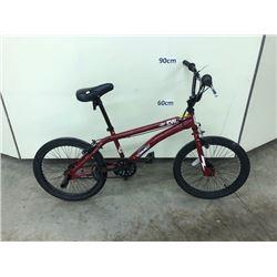 RED SIMS EVIL BMX BIKE