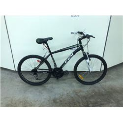 BLACK CCM NIOTRO XT 21 SPEED FRONT SUSPENSION MOUNTAIN BIKE