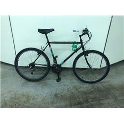 BLACK CCM 18 SPEED ROAD BIKE