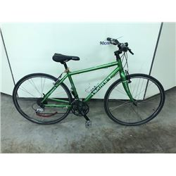 GREEN DEVINCI AMSTERDAM 24 SPEED HYBRID ROAD BIKE