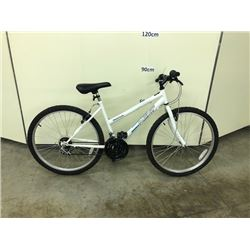 WHITE NEXT HIGHPEAK 18 SPEED MOUNTAIN BIKE