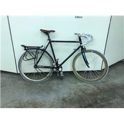 BLACK NO NAME SINGLE SPEED ROAD BIKE