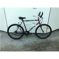 RED CCM 18 SPEED MOUNTAIN BIKE