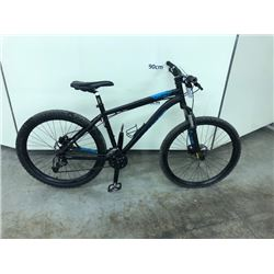 BLACK SPECIALIZED P.STREET ONE 21 SPEED FRONT SUSPENSION MOUNTAIN BIKE WITH FRONT AND REAR