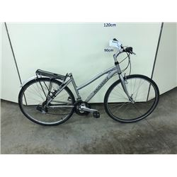 GREY MARIN KENTFIELD 18 SPEED CRUISER BIKE, MISSING SEAT