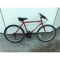 RED NORCO 18 SPEED MOUNTAIN BIKE