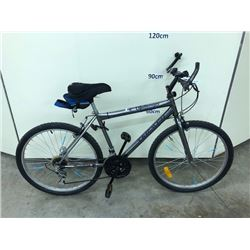 GREY TRIUMPH CHALLENGER 18 SPEED MOUNTAIN BIKE