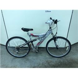 SILVER INFINITY QUANTUM 24 SPEED FULL SUSPENSION MOUNTAIN BIKE