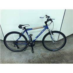 BLUE TREK 21 SPEED MOUNTAIN BIKE