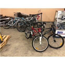 LOT OF 6 MISC. BIKES