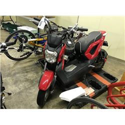 RED TORINO ELECTRIC MOPED AND MISC. PARTS