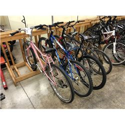 LOT OF 5 MISC. BIKES