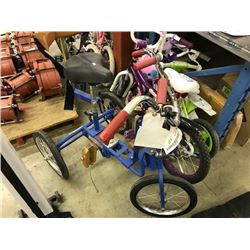 LOT OF MISC. CHILDRENS BIKES