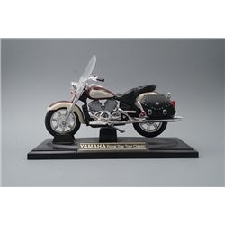 A Yamaha Royal Star Tour Classic Motorcycle Model.